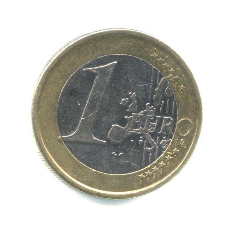 Spain 1 euro, 1999 - 2006