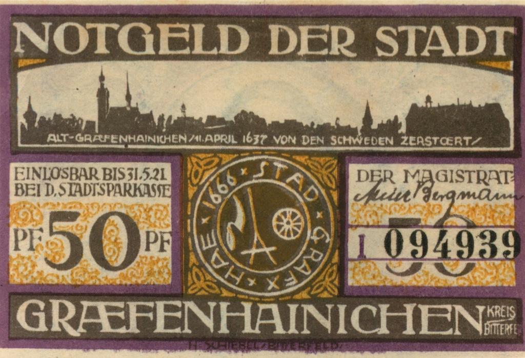 50 пфеннигов (нотгельд) (Германия)