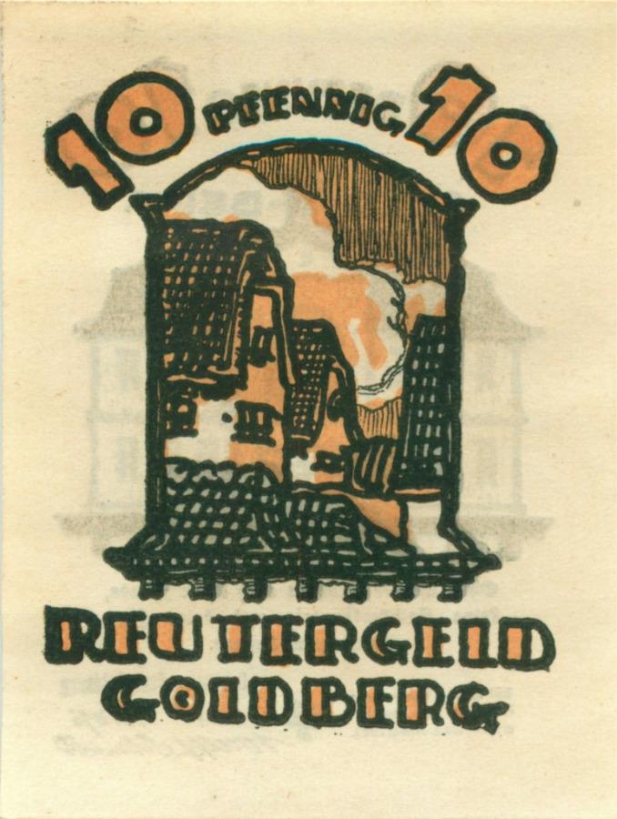 10 пфеннигов (нотгельд) 1922 года (Германия)