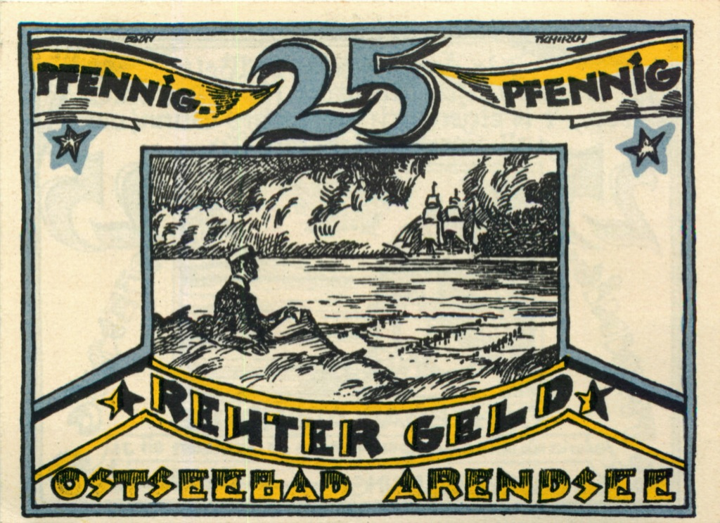 25 пфеннигов (нотгельд) 1922 года (Германия)