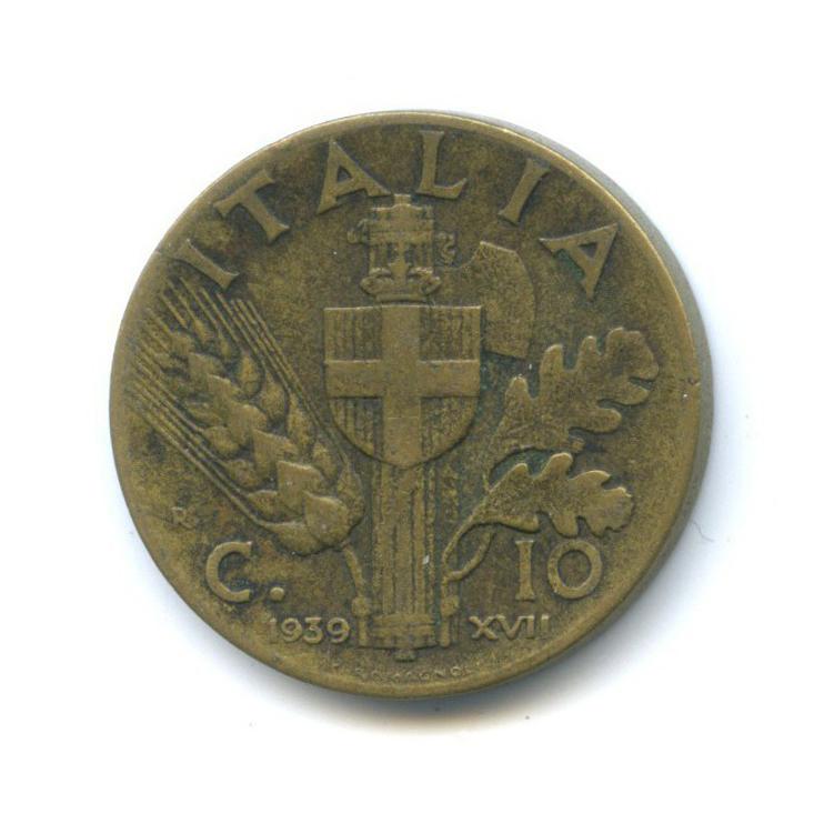 10 чентезимо 1939 года n (Италия)