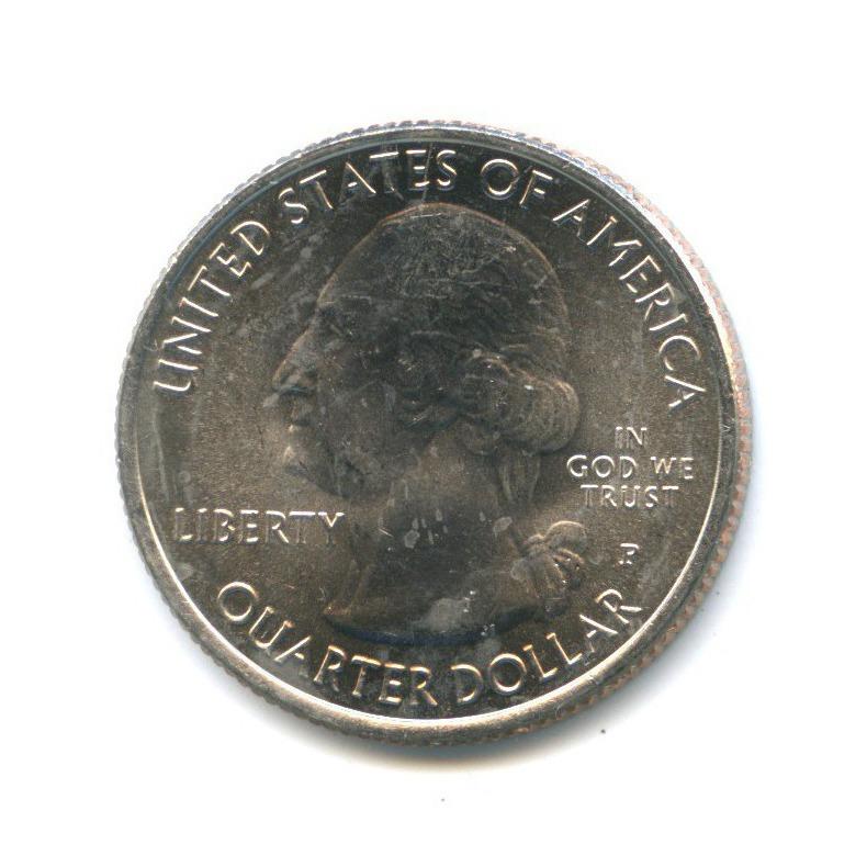 25 центов (квотер) — Национальный парк Шенандоа 2014 года P (США)