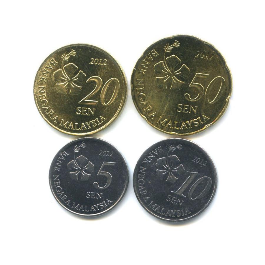 Набор монет 2012 года (Малайзия)