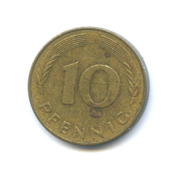 10 пфеннигов 1978 года J (Германия)