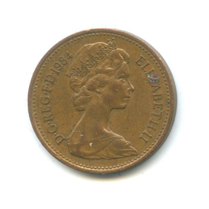 1 пенни 1984 года (Великобритания)