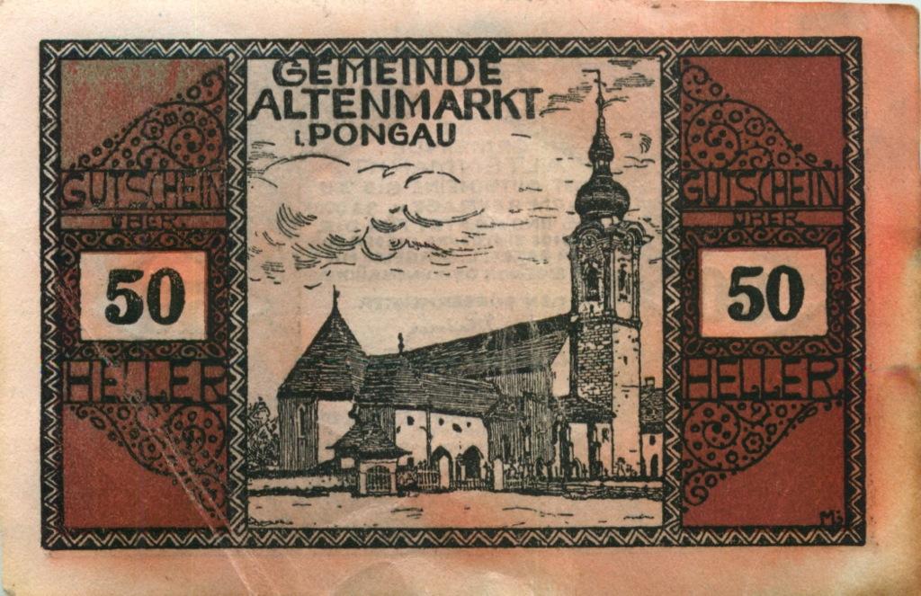 50 геллеров (нотгельд) (Австрия)