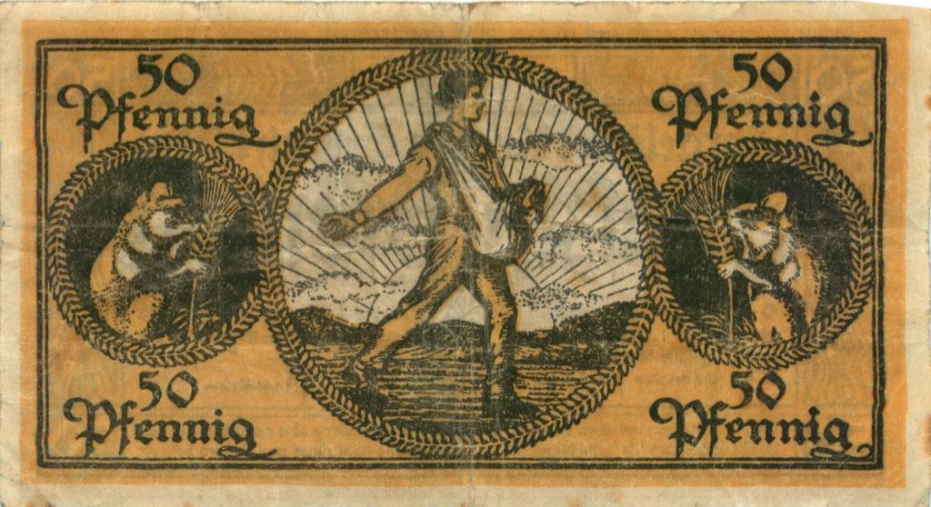 50 пфеннигов (нотгельд) 1918 года (Германия)