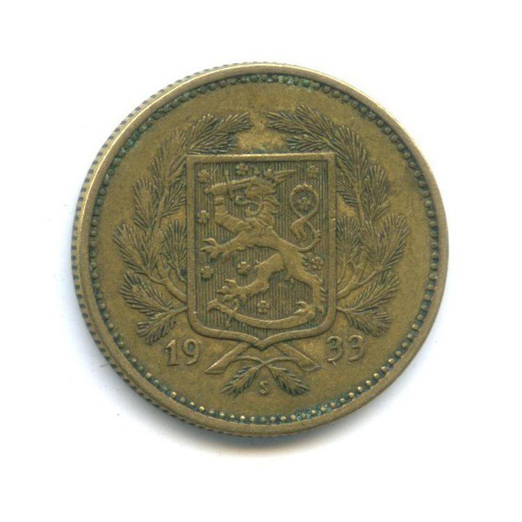 5 марок 1933 года (Финляндия)