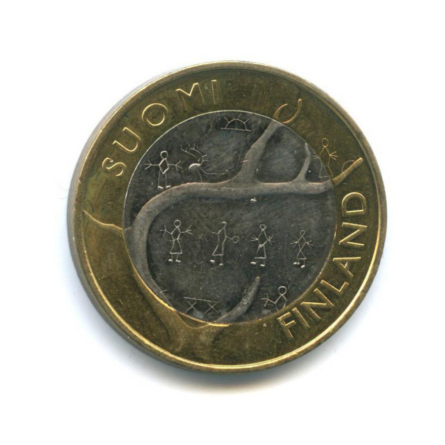 5 евро — Исторические регионы Финляндии - Лапландия 2011 года (Финляндия)