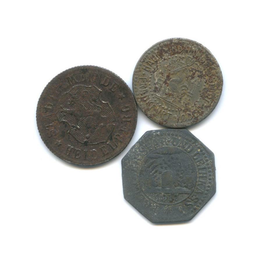 Набор монет 10 пфеннигов, 50 пфеннигов (нотгельд) (Германия)
