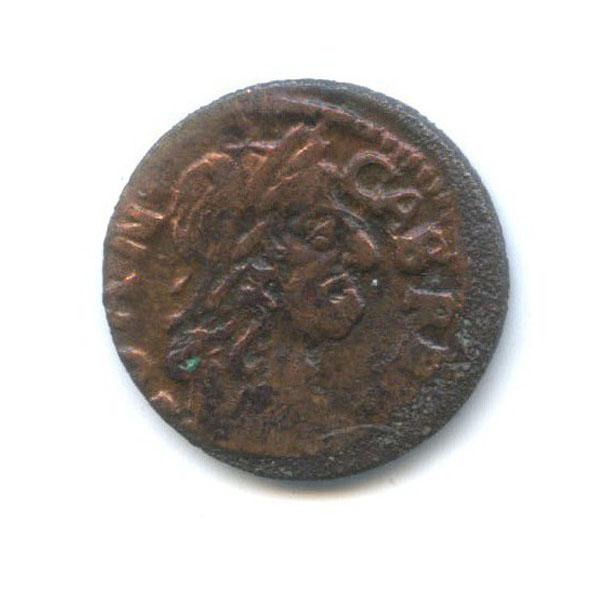 1 солид - ЯнIIКазимир 1664 года (Польша)