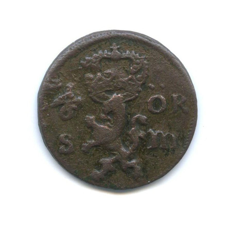 1/6 эре 1666 года (Швеция)