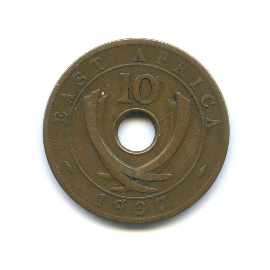 10 центов, Восточная Африка 1937 года