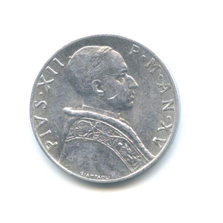 5 лир - Фигура Закона 1953 года (Ватикан)