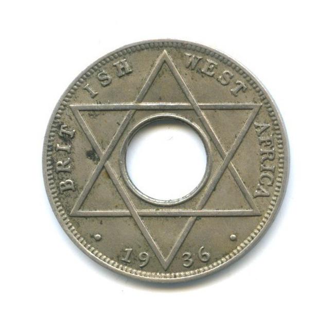 1/10 пенни, Британская Западная Африка 1936 года