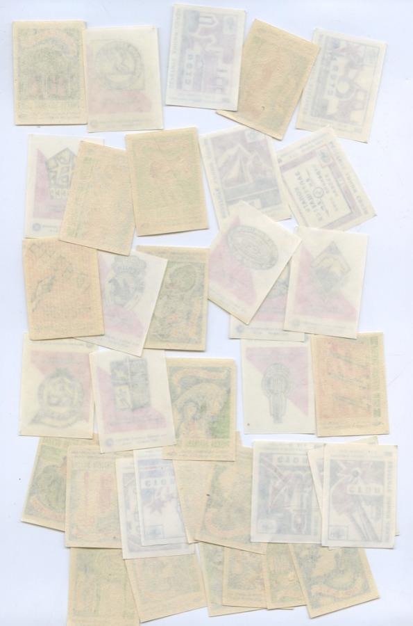 Набор спичечных этикеток (36 шт.) (СССР)