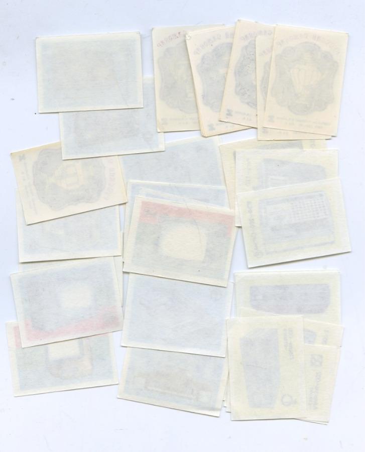 Набор спичечных этикеток (37 шт.) (СССР)