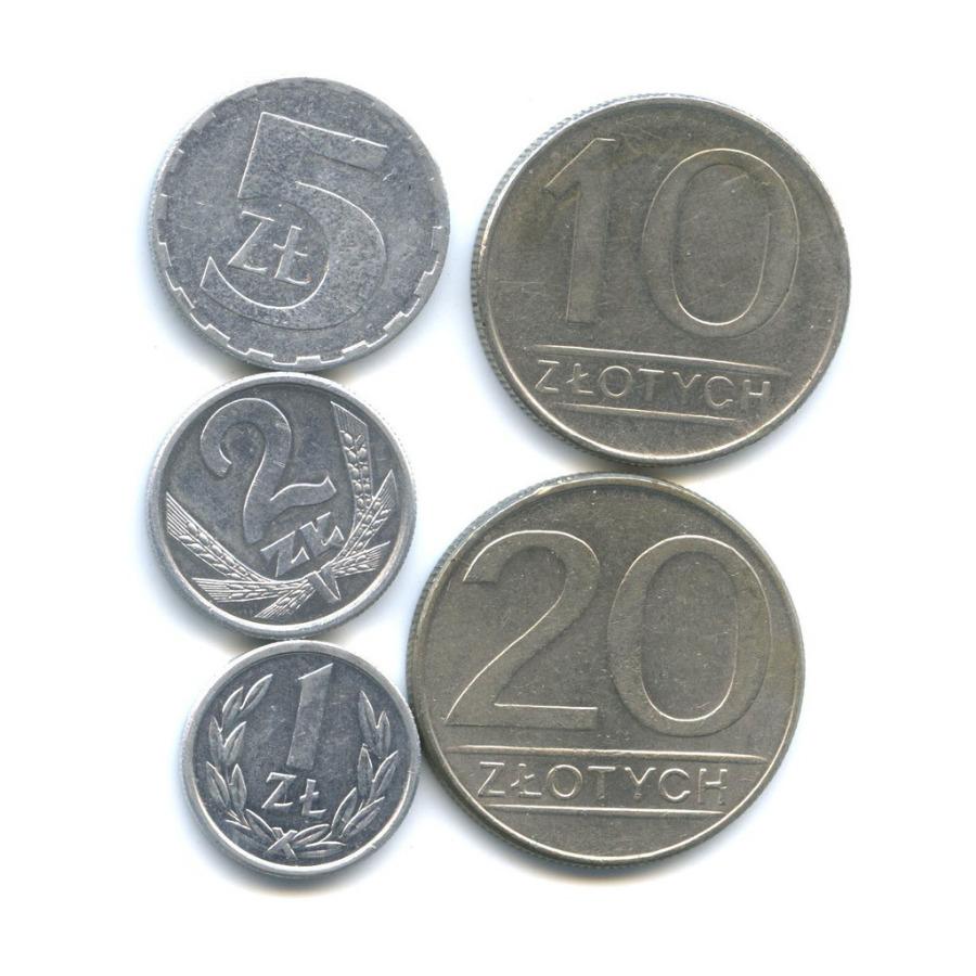 Набор монет 1988, 1989 (Польша)