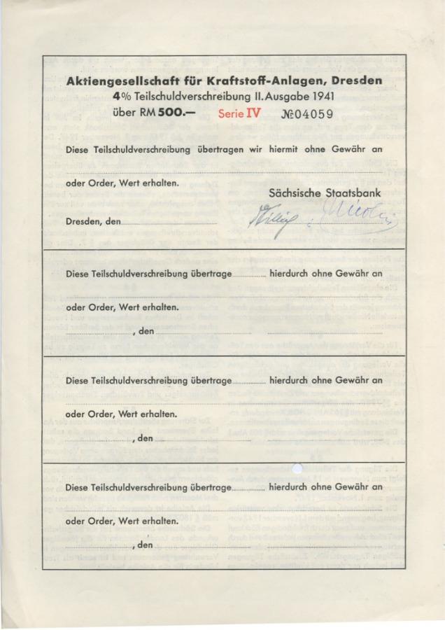 500 рейхсмарок 1941 года (Германия (Третий рейх))