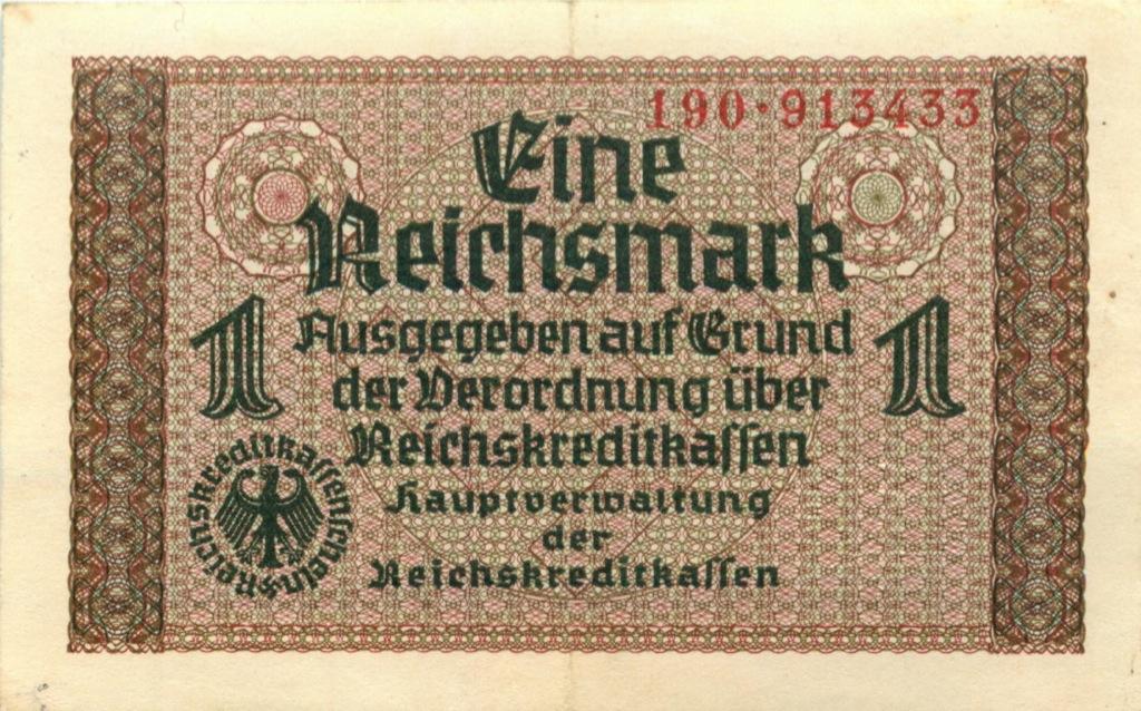 1 рейхсмарка (Германия (Третий рейх))