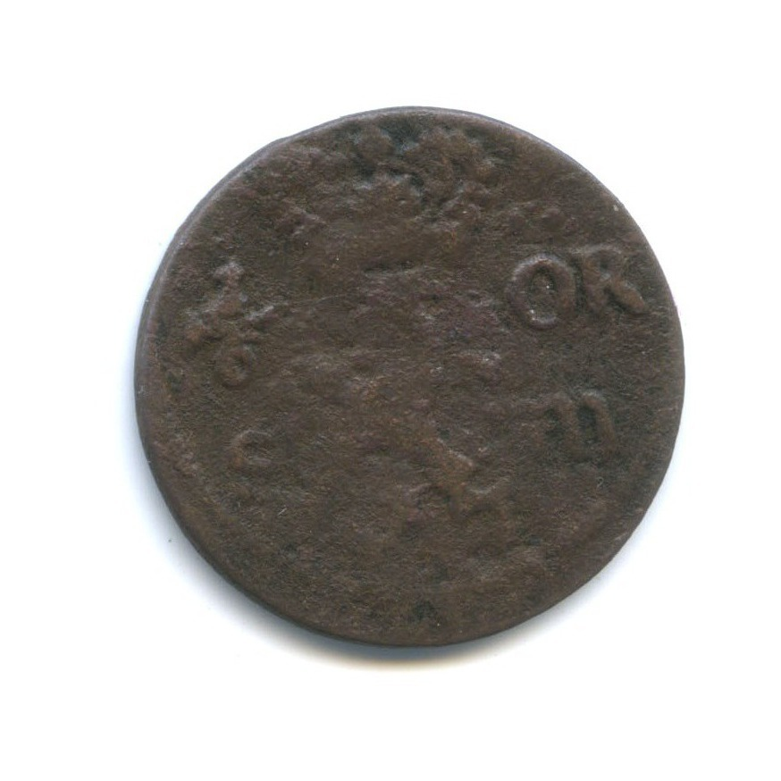 1/6 эре 1672 года (Швеция)