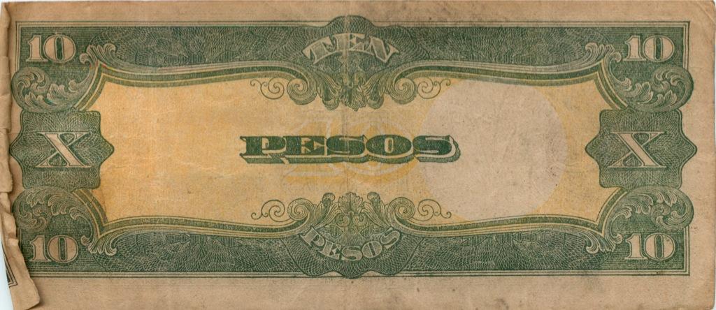 10 песо - Филиппины (Японская оккупация) (Япония)