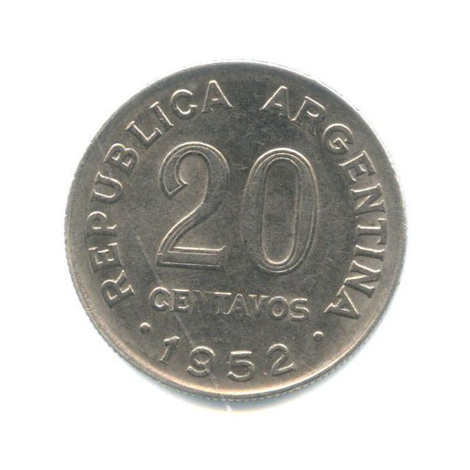 20 сентаво 1952 года (Аргентина)