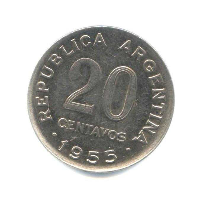 20 сентаво 1955 года (Аргентина)