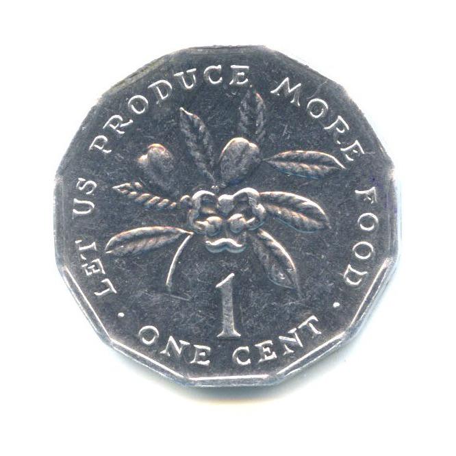 1 цент 1990 года (Ямайка)