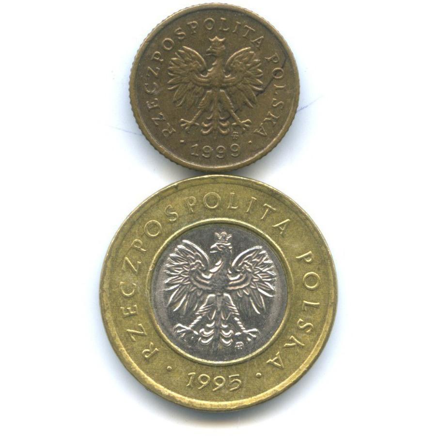 Набор монет 1995, 1999 (Польша)