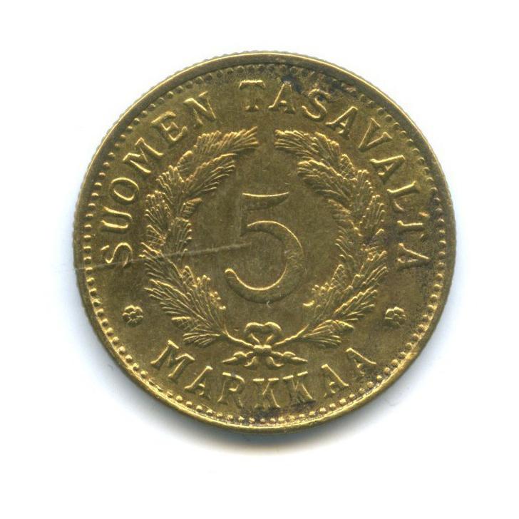 5 марок 1949 года (Финляндия)