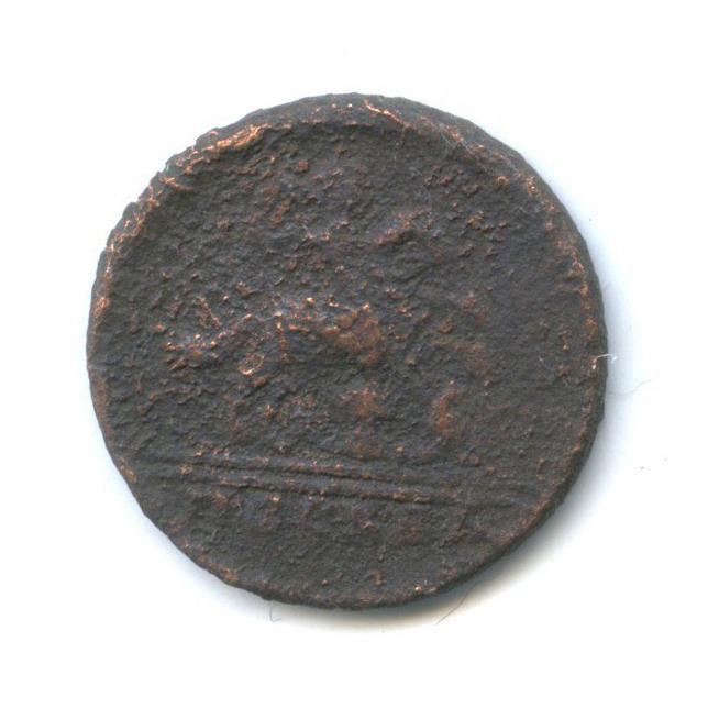 1 копейка, Москва «крестовая» 1728 года (Российская Империя)