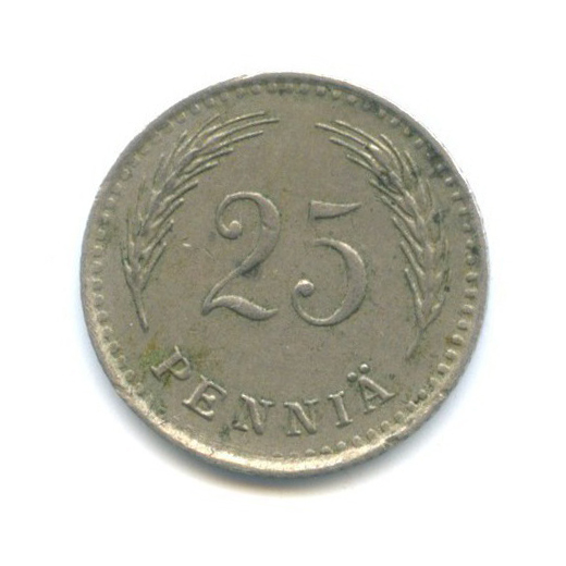 25 пенни 1921 года (Финляндия)