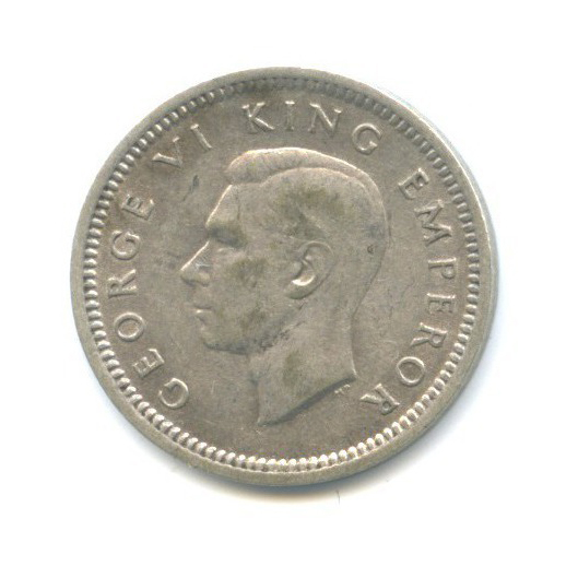 3 пенса 1943 года (Новая Зеландия)