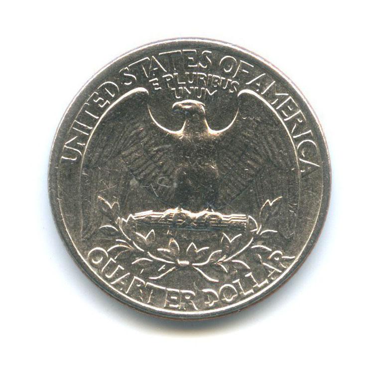 25 центов (квотер) 1977 года D (США)