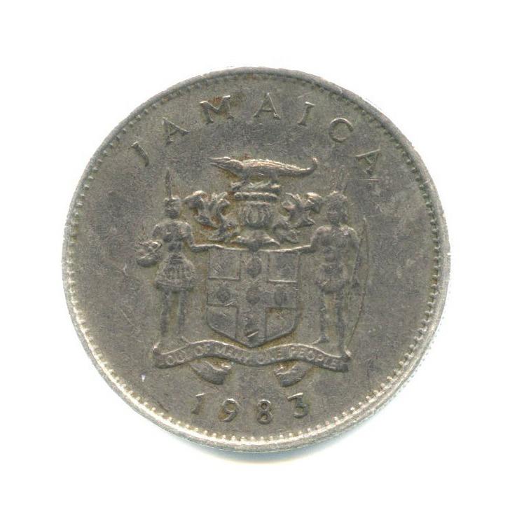 10 центов, Ямайка 1983 года