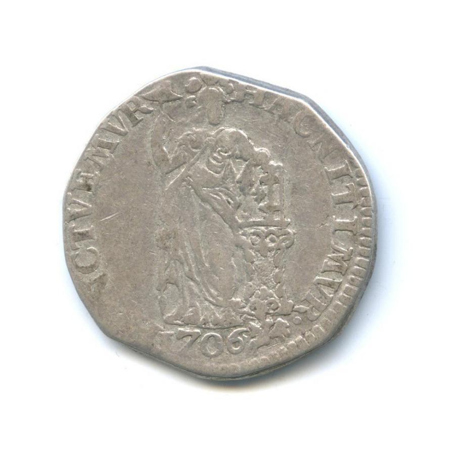 1 гульден, Голландия 1706 года (Нидерланды)