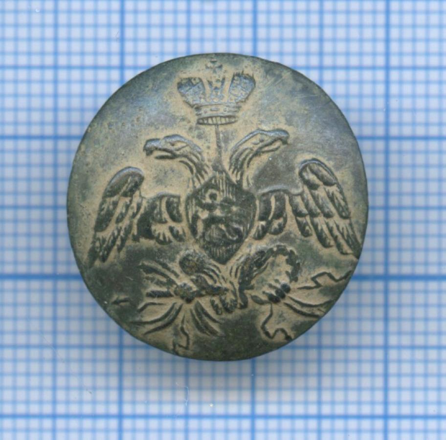 Пуговица офицерская (Российская Империя)