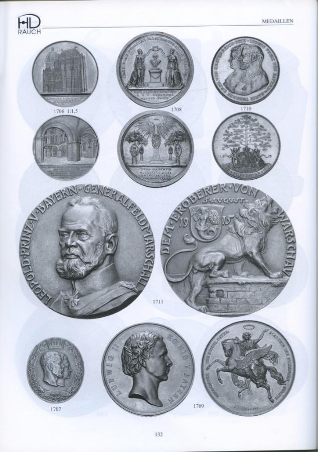 Каталог аукциона нумизматики «Auktionshaus H. D. Rauch», 208 стр 2004 года (Австрия)