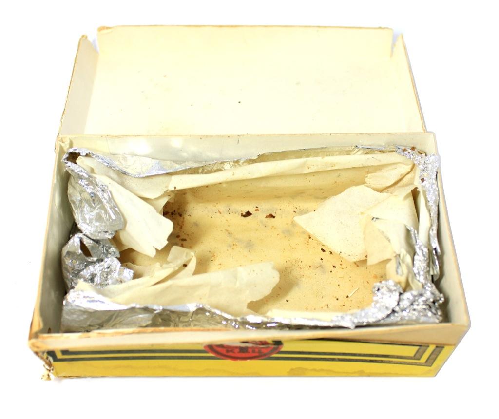 Коробка табачная «Трубочный табак «Золотое руно», 5×14,5 см (СССР)