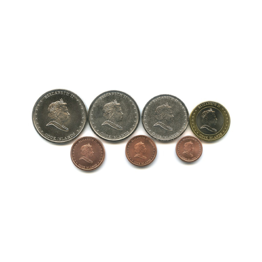 Набор монет, Острова Кука 2010 года