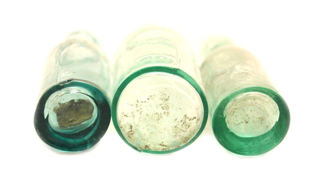 Набор бутылочек, стекло (7 см, 8 см, 7 см)
