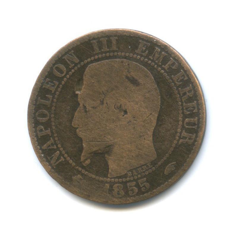 5 сантимов, Наполеон III 1855 года (Франция)