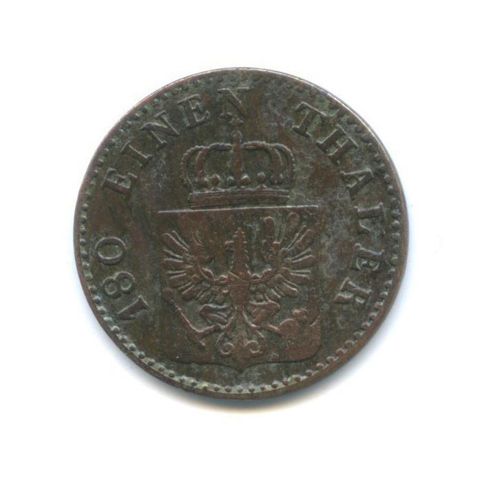 2 пфеннинга, Пруссия 1856 года А