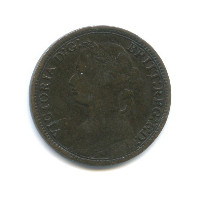 1 фартинг - Королева Виктория 1878 года (Великобритания)