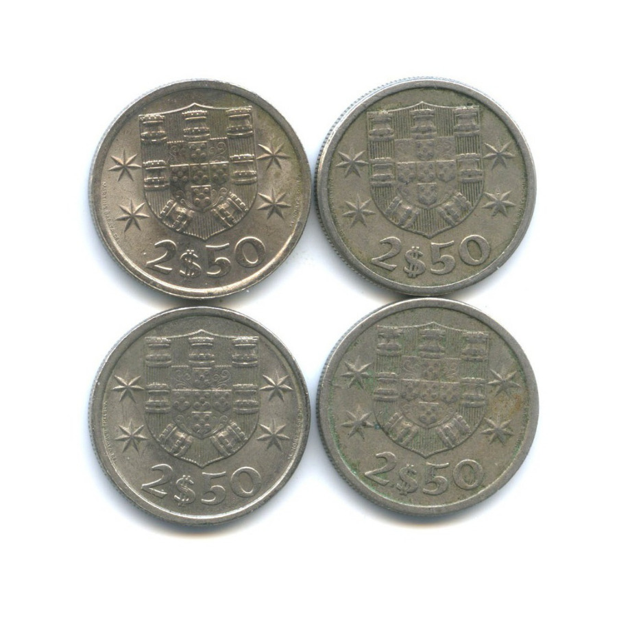 Набор монет 2,5 эскудо (Португалия)