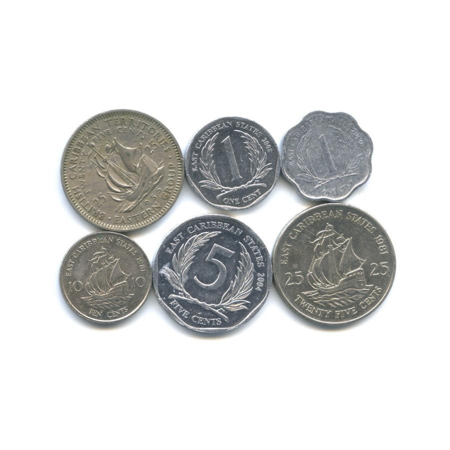 Набор монет (Карибские территории)
