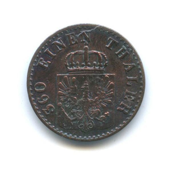 1 пфеннинг, Пруссия 1856 года А