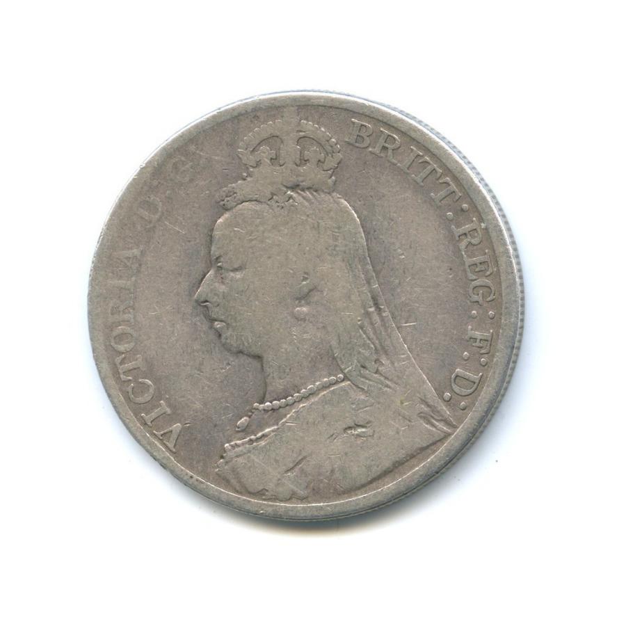 1 крона - Королева Виктория 1889 года (Великобритания)