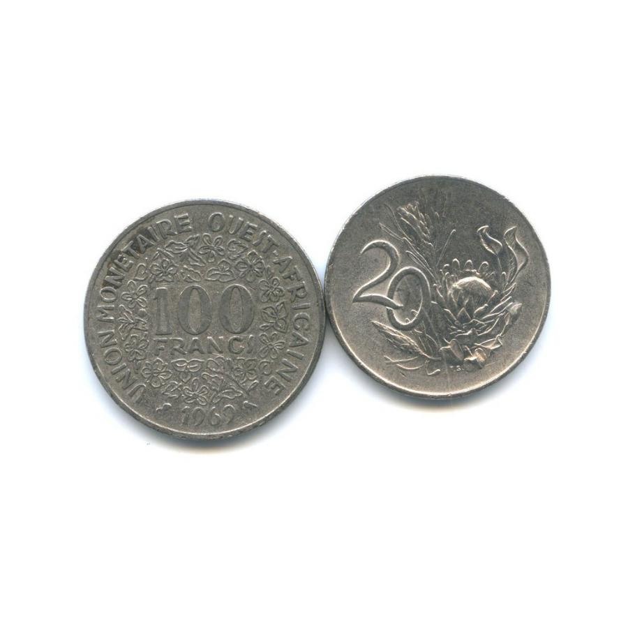 Набор монет (Западная Африка, ЮАР) 1962, 1965